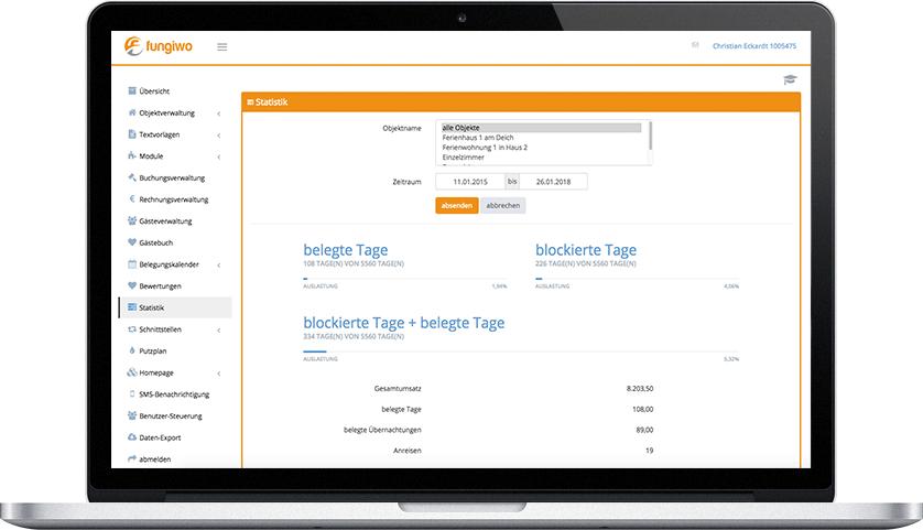 Ferienhaus Software zur Objektverwaltung