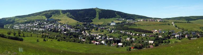 Sommerpanorama Oberwiesenthal